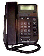 VISTA 200 TELEPHONE - black