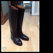 Luxury Regent Leather Horse-riding Boots size 4