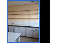 Lab Shelving - Trespa