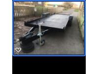 Plant trailer, 17ft long with new buffalo board floor. £550 ono
