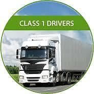 Are you a Class 1 Driver?