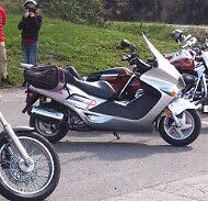 Motorcycle scoter