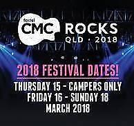 WTB CMC 2018 Tickets