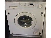 INTEGRATED ZANUSSI WASHER/DRYER - 1200 SPIN - WILL DELIVER
