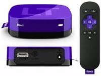 "Roku LT media streamer. In box, ""as new"". For Netflix, Plex, Now TV, BBC iplayer, Youtube etc"