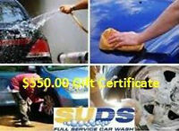 $550 Gift Certificate to SUDS Full Service Car Wash