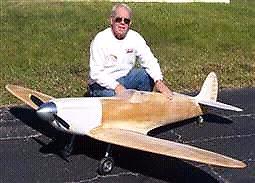 1/4 scale  spitfire rc plane