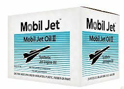 MOBIL JET OIL II - CARTON 24 QUARTS