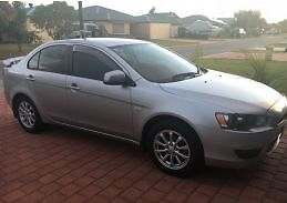 2010 Mitsubishi Lancer Sedan **12 MONTH WARRANTY** West Perth Perth City Area Preview
