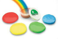 Rainbow hand putty for therapy