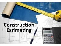 CONSTRUCTION ESTIMATING SERVICE. Over thirty years experience, all aspects. fully insured