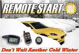 1 way remote car starter and installation