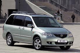 Porte (Door) et Capot (Hood) Mazda MPV 2000-2006