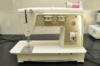 Singer Touch & Sew 750 Golden Deluxe Mechanical Sewing Machine