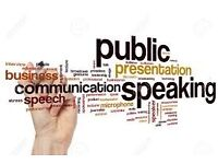 Public Speaking, Presentation at work? Need help??? We can help you!