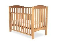 Mothercare pine Takeley cot