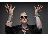 2 x The Black Madonna Tickets - Hope Works - Friday 16th