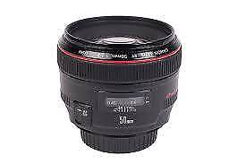 Canon 50mm f/1.2 L for Sale