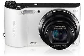 SAMSUNG WB150 DIGITAL CAMERA (WHITE) (OUR REF 9474)