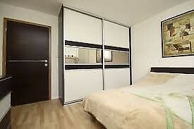 Brand New Luxury Modern Mohito Sliding Wardrobe with Mirrors in White Color**Low Price**Top Quality*