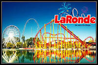 3 LaRonde GOLDEN Season tickets