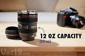 Camera Lens Coffee Mug *Free Delivery*