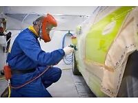 Professional spray painter& panel beater 100% % colour match