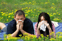 Allergies getting you down ?  We can HELP !