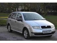 Skoda Fabia Estate 1.4 Petrol low mileage. Silver
