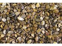 10mm Quartz Trent Valley River Gravel Decorative Aggregate PER TONNE