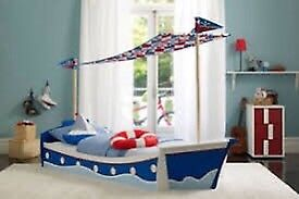 Kids / children's next boat bed