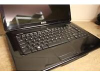 dell laptop good condition 3 gb ram 250 harddrive 15.6 led widescreen display dual core