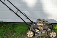 """WANTED: none running gas lawn mowers """"pay cash"""""""