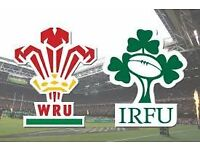 WALES v IRELAND - ***GREAT 22-LINE PAIR***