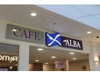 Waiter/waitress required for busy cafe in Milngavie