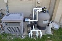 Pool heater repair and installation all makes and models