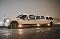 TORONTO winter ❄️ night out limo package $280  ☎️ 416-407-7355