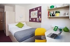 Student Accommodation available 10th May - 30th June. Ensuite room at Buchanan View, Glasgow