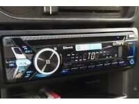 SONY MEX-N4000BT TOP OF THE RANGE CD/MP3/BLUETOOTH/AUX/USB AND MUCH MORE