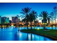 6 return flight tickets Bristol- Orlando, 7.May-21.May