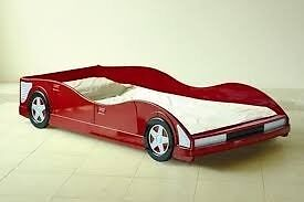Kids single car bed (no mattress) - £50 No offers please