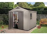 Keter Factor Plastic shed 8x8 ( brand new )