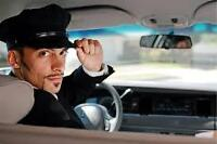 Personal chauffeur will drive long distances.