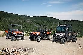 KUBOTA 2014 RTV X SERIES #1 SELLING UTILITY VEHICLE