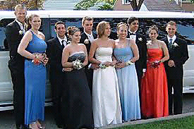 Prom limousine birthday party luxury limo rental