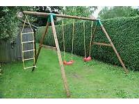 Little tikes swing and rope ladder set