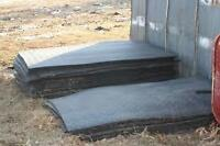 "Fifteen 4'x6' stall mats, 3/4"" thick, in good condition."