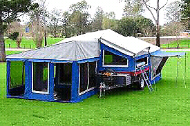 MDC Off-road Camper Trailer Lambton Newcastle Area Preview