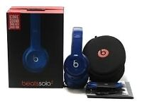 beats solo 2 wireless headphones genuine 100% spares repairs make a mint fixable blue