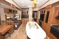 2015 GRAND DESIGN REFLECTION 323BHS FIFTH WHEEL BUNKHOUSE MODEL